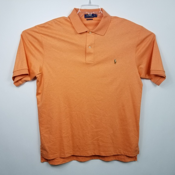 bd369833 Polo Ralph Lauren Mens Polo Shirt Sz XLT Orange